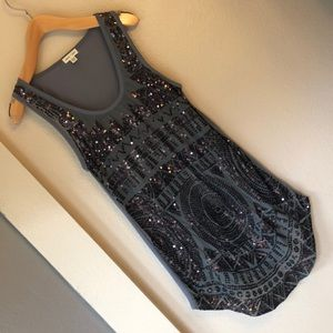 Tops - Silence and noise sequin tunic